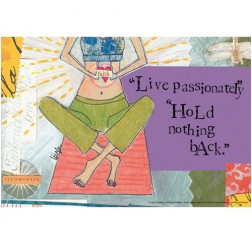 Live Passionately Laptop Skin