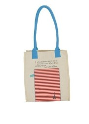 paris canvas tote