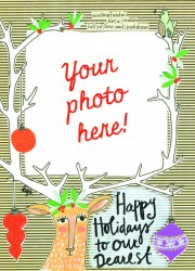 DEAREST Holiday Photocard