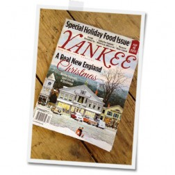 Yankee Magazine features my holiday house in this month's magazine!