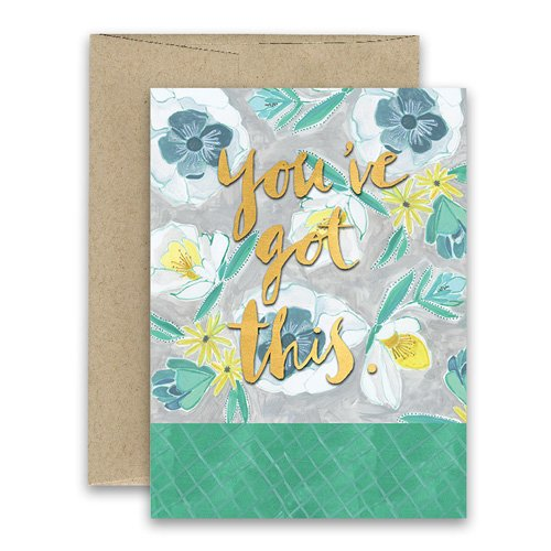 Youve got this greeting card freshly painted curly girl design m4hsunfo