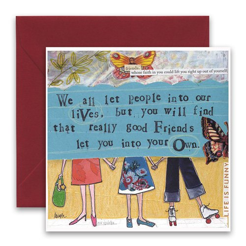 Into your own greeting card curly girl design into your own greeting card m4hsunfo