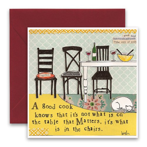 In the chairs greeting card curly girl design in the chairs greeting card m4hsunfo
