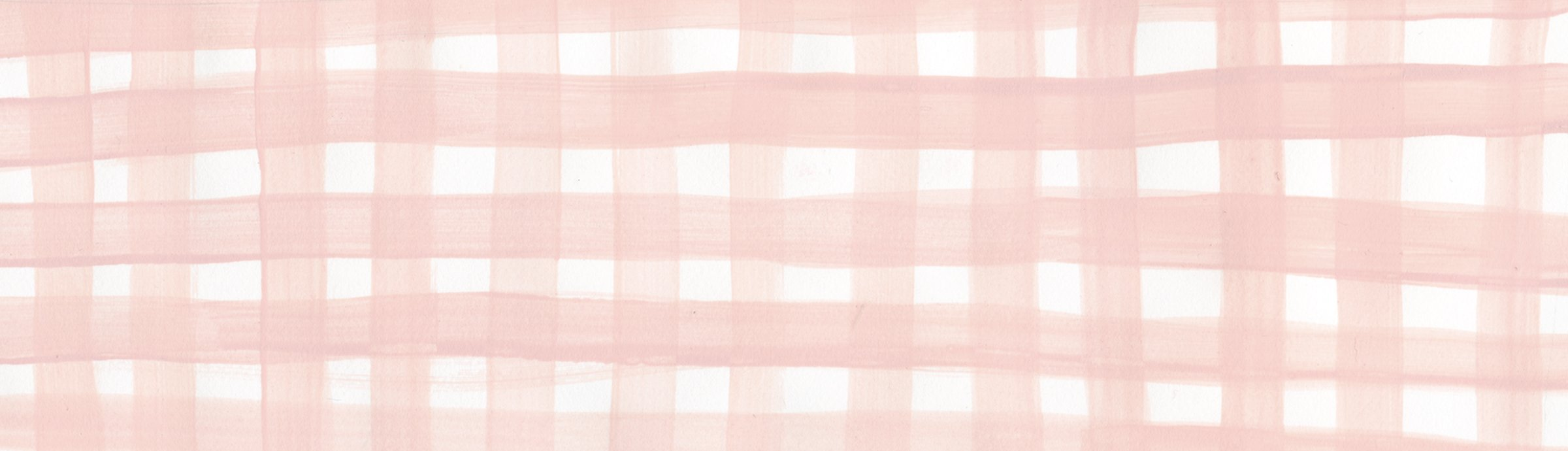 Pink Plaid Watercolor