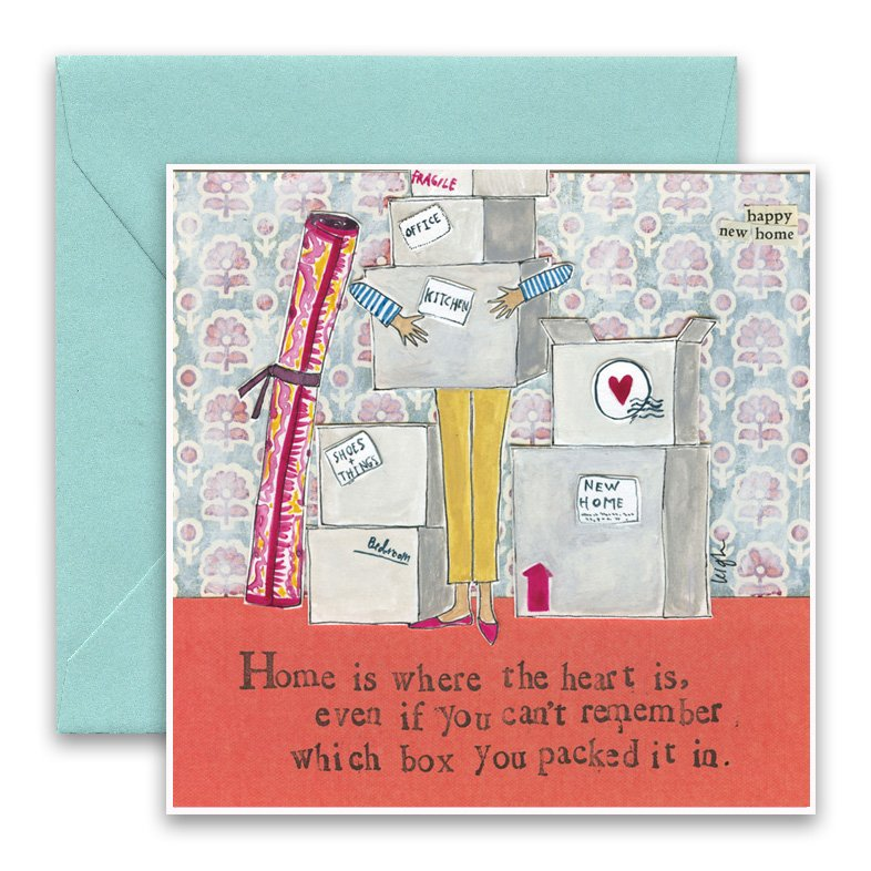 Home is where greeting card curly girl design home is where greeting card m4hsunfo