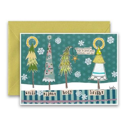 Holy Bright Holiday Card