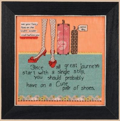 Journeys Cross Stitch Kit