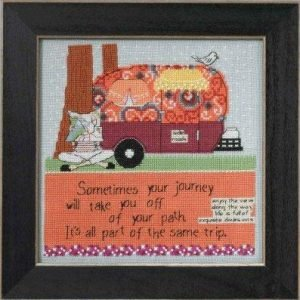 Off Your Path Cross Stitch Kit