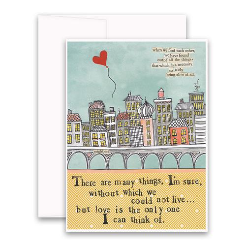 Love Is The Only One Greeting Card