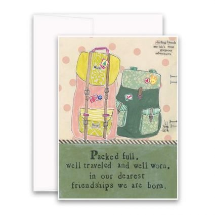 Packed Full Greeting Card
