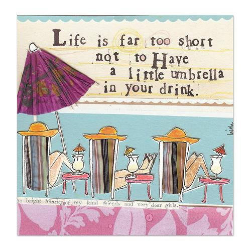 Life's Too Short Canvas
