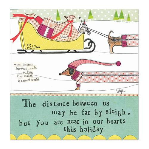 Tucker's Sleigh Ride Canvas