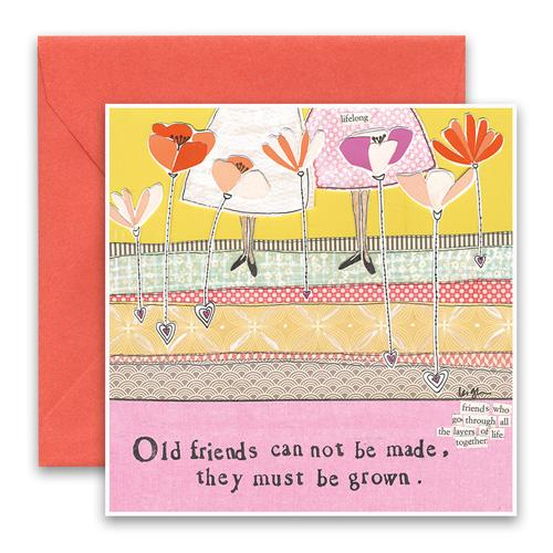 Old Friends Greeting Card