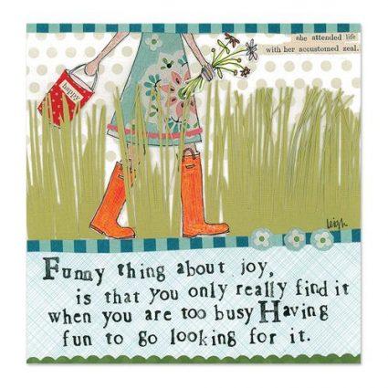 Funny Joy Canvas