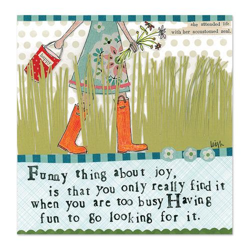 Funny Joy Canvas