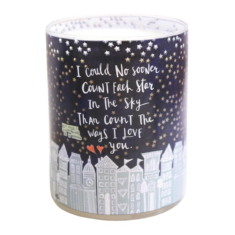 Count The Stars Candle