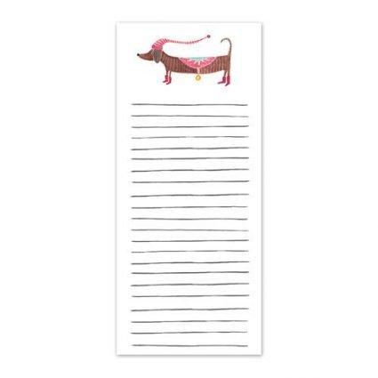 Doxie Holiday Listpad