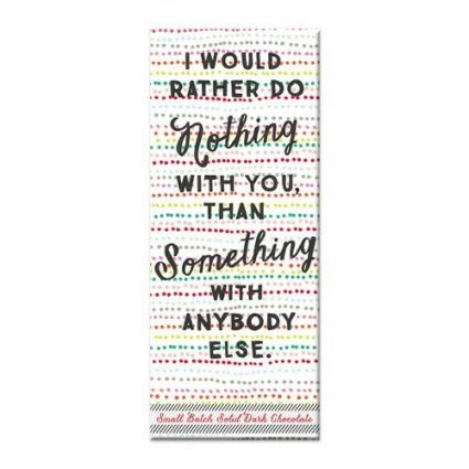 Nothing With You - Choc Bar