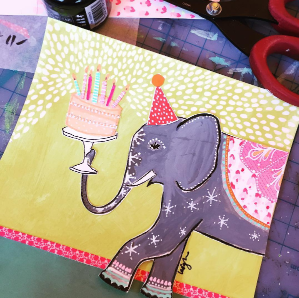 Enormous Birthday Greeting Card