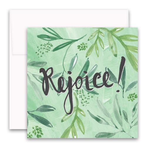 Rejoice Enclosure Card