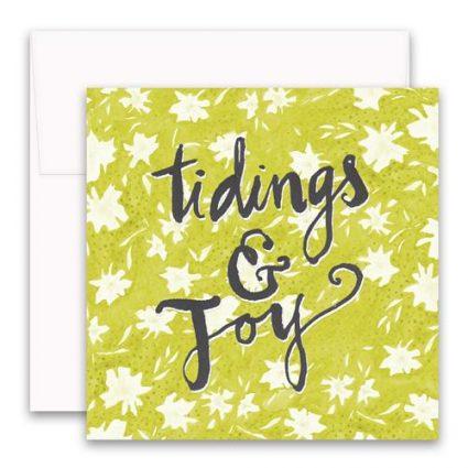 Tidings & Joy Enclosure Card