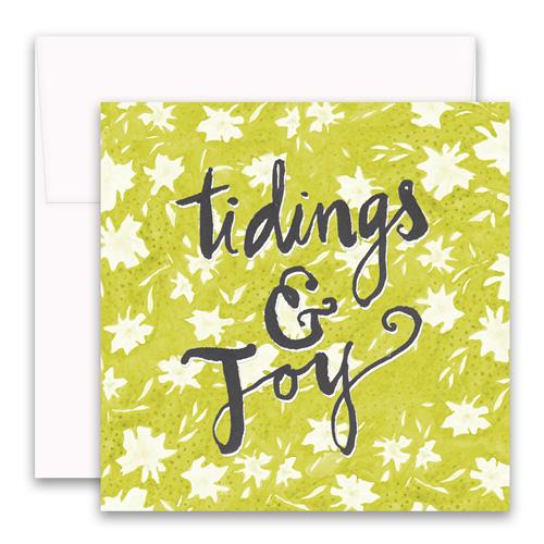 Tidings & Joy Enclosure Card