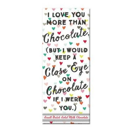 Love You More - Chocolate Bar
