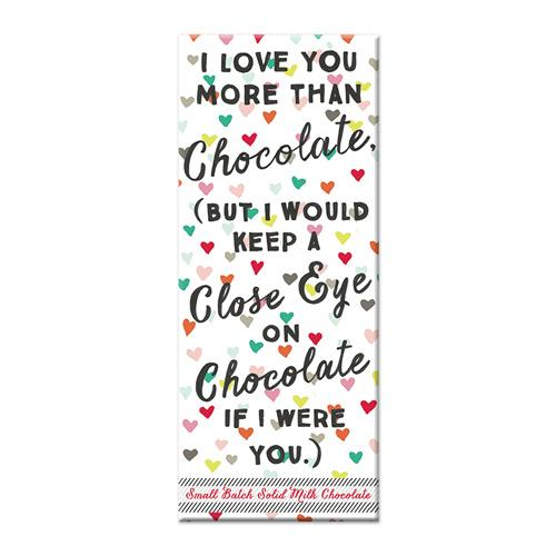 Love You More - Chocolate Bar