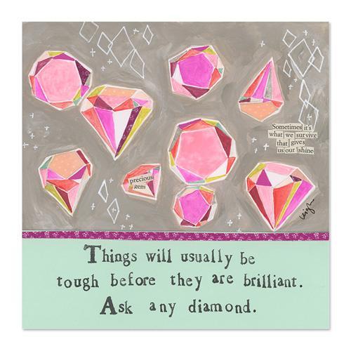 Brilliant Diamond Canvas