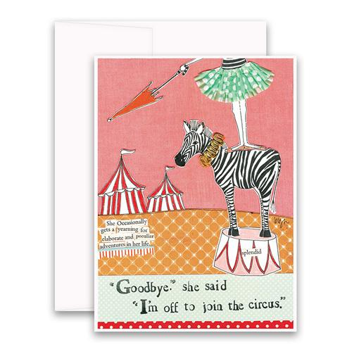 Circus Adventure Greeting Card