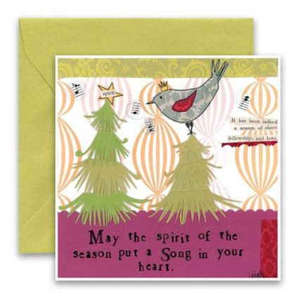 Song In Your Heart Holiday Card