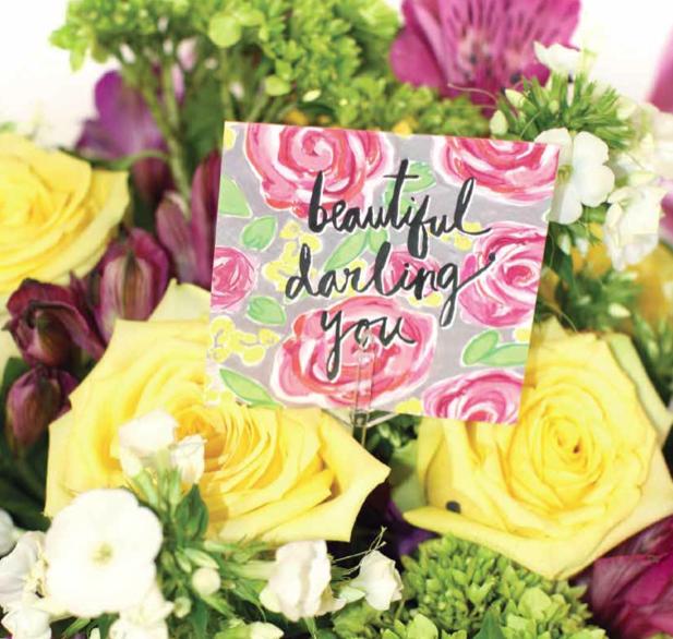 Beautiful Darling You Enclosure Card