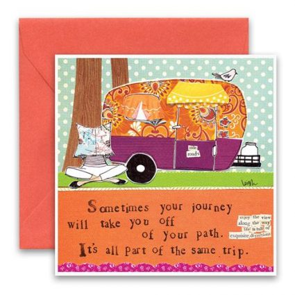 Off Your Path Greeting Card