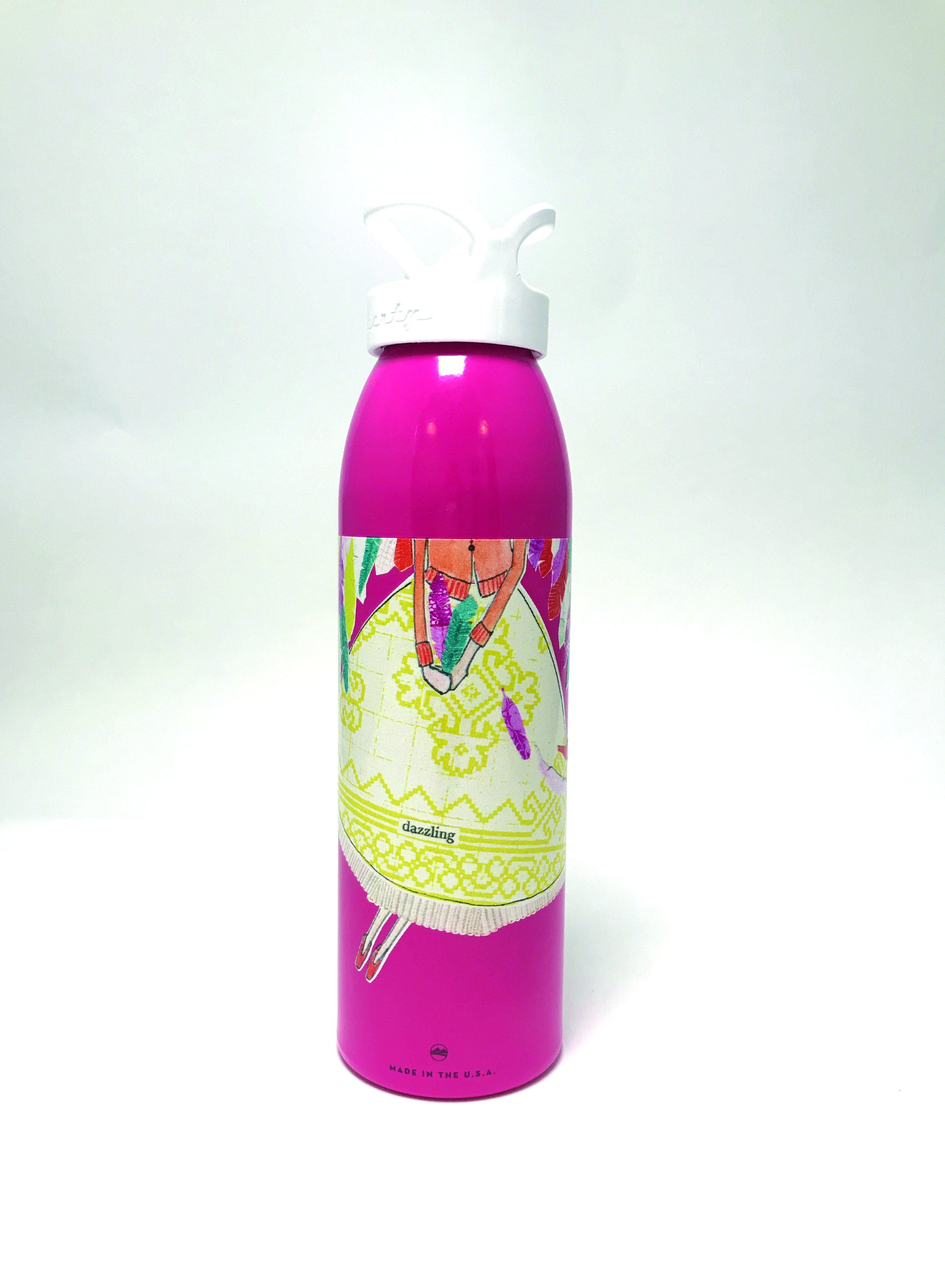Feathers Water Bottles