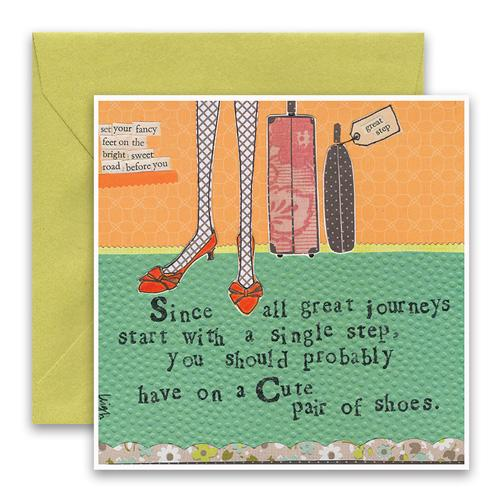 Great Journeys Greeting Card