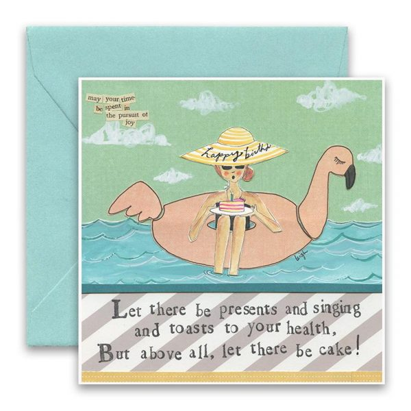 Let There Be Cake Greeting Card