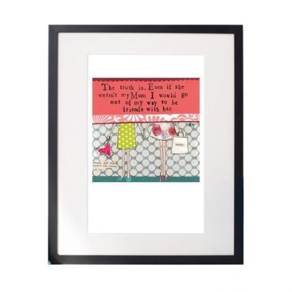Mom Matted Print