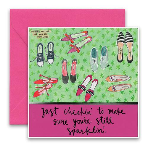 Still Sparklin Greeting Card