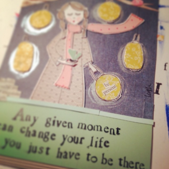 Any Given Moment Greeting Card