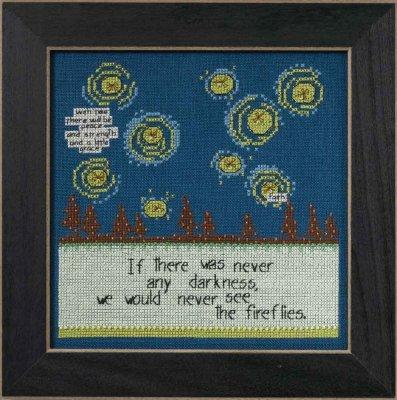 Fireflies Cross Stitch Kit