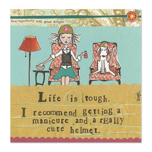 Life Is Tough Canvas
