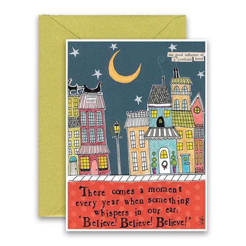 Believe Believe Believe Holiday Card