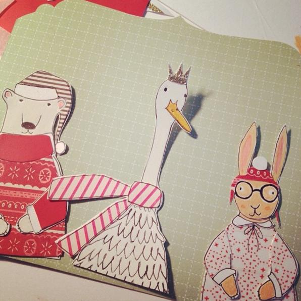 Magical Thinking Holiday Card