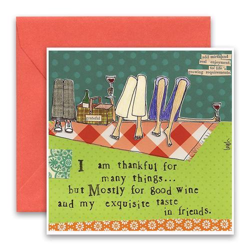 Exquisite Taste In Friends Greeting Card