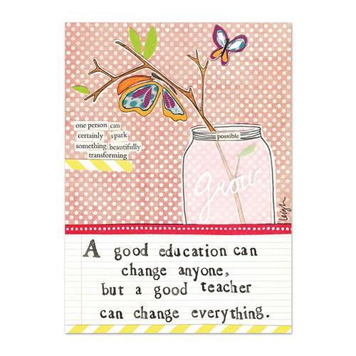Good Teacher Canvas