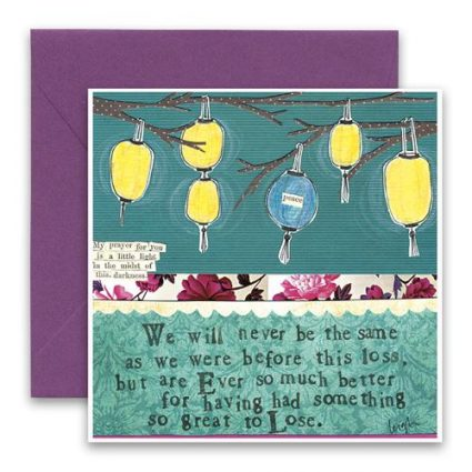 Before This Loss Greeting Card