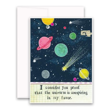 Consider You Proof Greeting Card