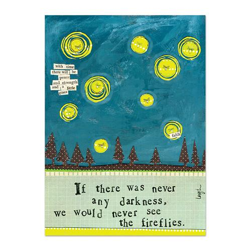 Fireflies Canvas