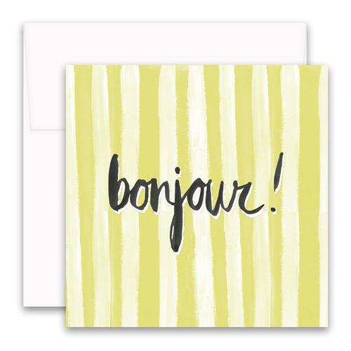 Bonjour Enclosure Card