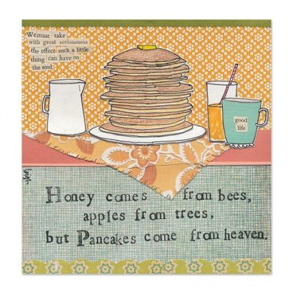 Pancakes Canvas